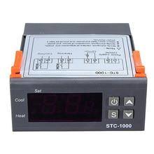 цена на STC-1000 Computer Temperature Controller Sensor Thermostat Control Digital For Aquarium
