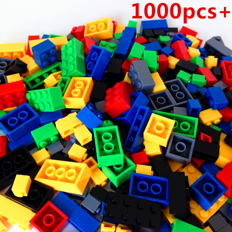 NEW 1000pcs Building Blocks DIY Creative Bricks Toys for Children Educational Toys Compatible with Lepin Bricks Free Shipping 2016 new sluban 0502 building blocks 415pcs diy creative bricks toys for children educational bricks brinquedos legeod