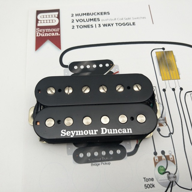US $78 0  Seymour Duncan Pickups SH PG1n Pearly Gates Humbucker Guitar Neck  Pickups-in Guitar Parts & Accessories from Sports & Entertainment on
