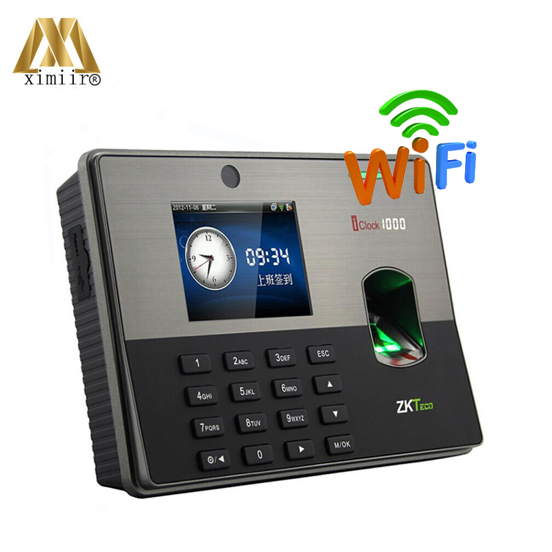 High Quality ZK Iclock1000 Fingerprint Door Access Control Fingerprint Time Attendance Card Time Recorder
