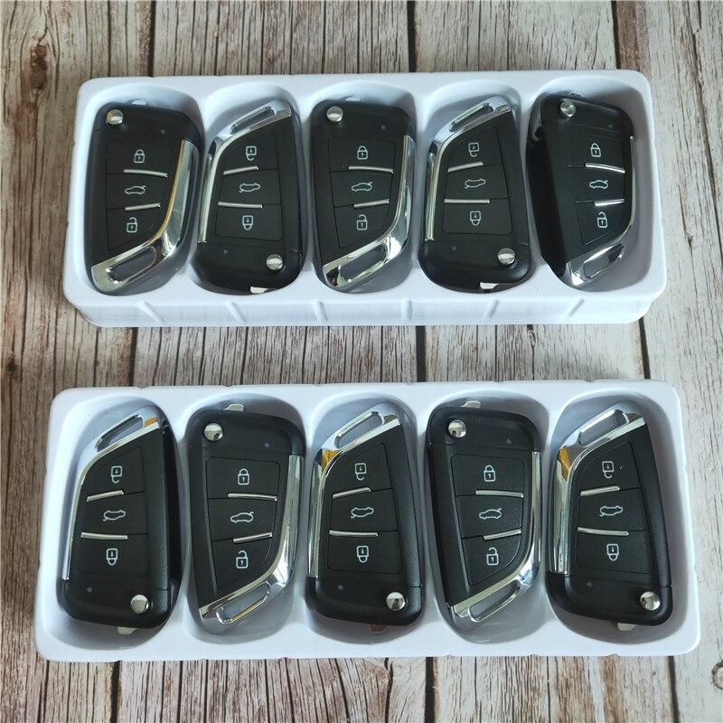 KEYDIY KD B29 3 boutons clé de voiture vierge pour KD900/KD-X2/URG200 programmeur clé série B télécommande