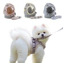 Поводок для собак, перекрестные подтяжки, набор для маленьких собак, светоотражающие шлейки для домашних животных, для щенка, не тянет собак, тренировочная шлейка для чихуахуа, мопс 35