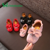 2016 Children Girl Shoes For Kids Rabbit Pattern With Flash Light White Pink Blue Sneakers Baby