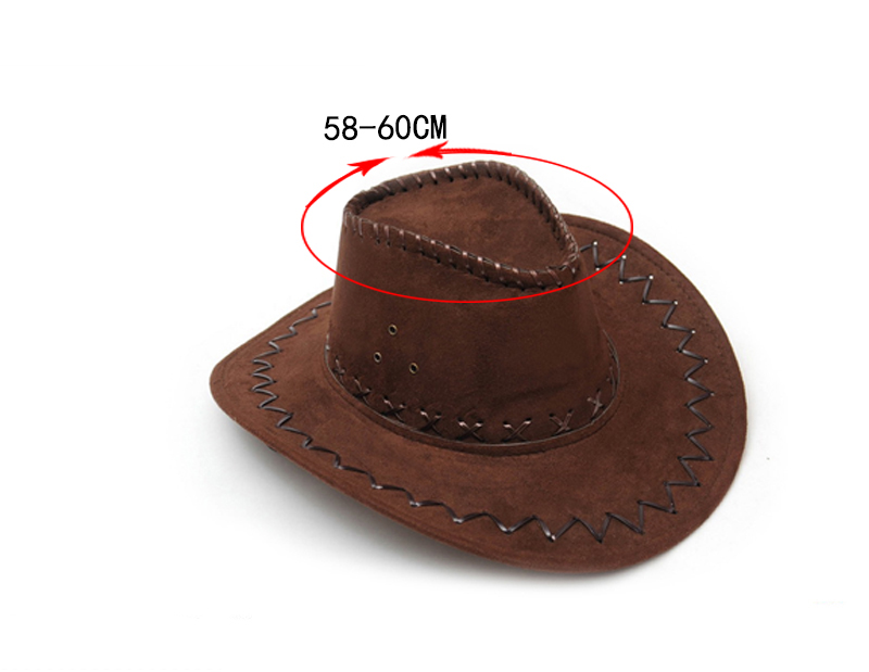 4849867b710 Unisex Classic Vintage Western Cowboy Hats Wholesale Women Men Tourist Caps  for Travel Outdoor Performance Hat-in Cowboy Hats from Apparel Accessories  on ...