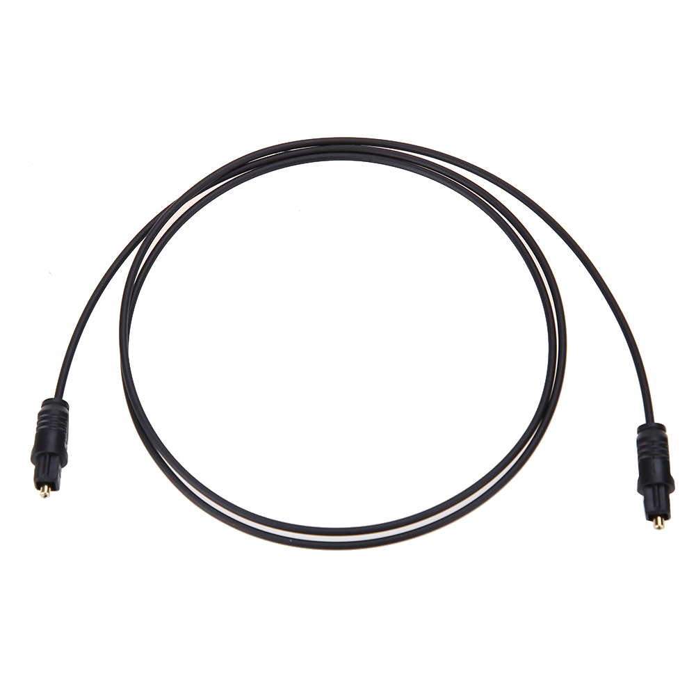 1m 6 ft digital fiber optic audio cable cord optical spdif