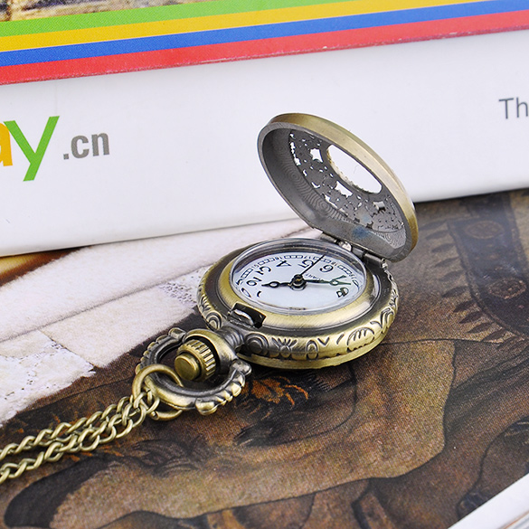 FANALA Men Pocket Watch Ретро Стиль Биіктігі Мыс - Қалта сағаты - фото 3