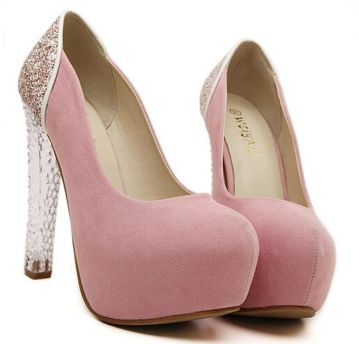 size 4 8 pink shoes autumn wedding high