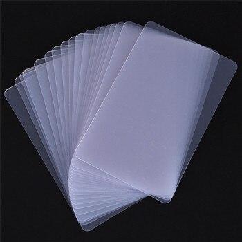 Herramienta de reparación, 10 unidades, práctico raspador de apertura de tarjetas de plástico para IPhone, IPad, tableta, teléfono móvil, herramientas de mano para pantalla pegada