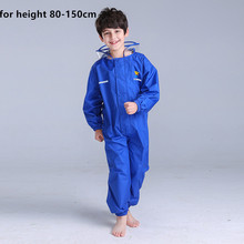 80-150cm Raincoat for children boy girls rain covers, childrens raincoats, kindergartens raincoats