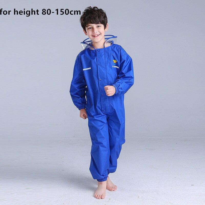 80 150cm Raincoat for children boy girls rain covers, children's raincoats, kindergartens raincoats
