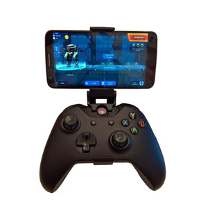 Phone Mount HandGrip Stand for Xbox ONE S/Slim Ones Controller for Steelseries Nimbus Gamepad iphone X Samsung S9 S8 Clip Holder(China)