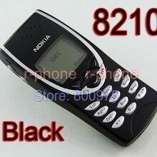 NOKIA 8210 мобильный телефон Восстановленный GSM 900/1800 черный разблокированный оптом и в розницу