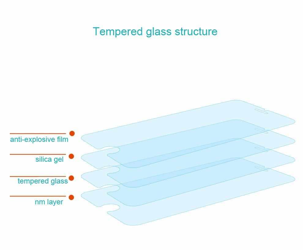 Đối với Sony Xperia E5 Tempered glass Bảo Vệ Màn Hình 0.26 mét 2.5 9 h An Toàn Màng Bảo Vệ trên E 5 F3311 f3313 Lte F 3311 3313 Bảo Vệ
