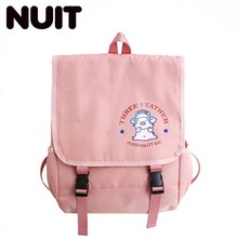 Girl Designer Student School Backpacks Bags For Teenagers Canvas Schoolbag Backpack Bookbag Korean Style Women Back Pack college girl canvas 3pcs backpack letters printing women usb school backpacks schoolbag for teenagers student book shoulder bags