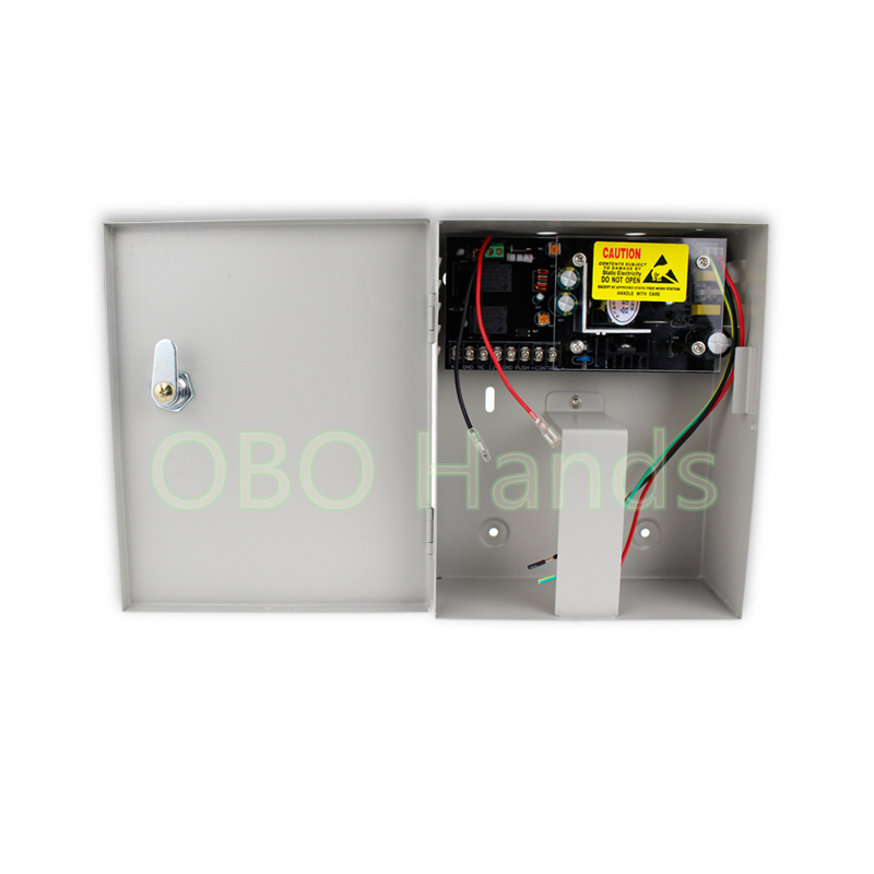 12V 5A access control system power supply box UPS back up power standby power supply for access control system back-up source double sided turnstile for access control system catracas tourniquetes