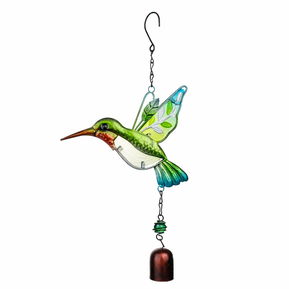 H&D Handmade Bird Wind Chime For Wall Window Door Wind Bell Hanging Ornaments Vintage Home Campanula Decoration Crafts