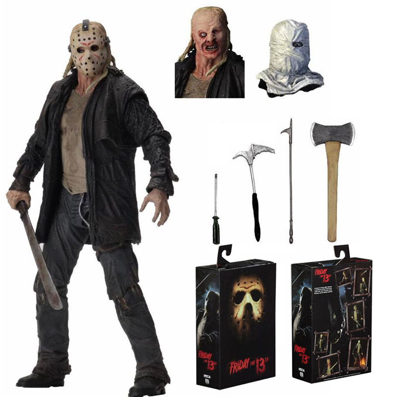 NECA Friday The 13th Jason 2009 Remake Voorhees Deluxe Edition Ultimate Action Figure Toy