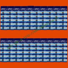 100PCS SUNMAX CR1216 LITHIUM BATTERIES 3V SHIP by air mail