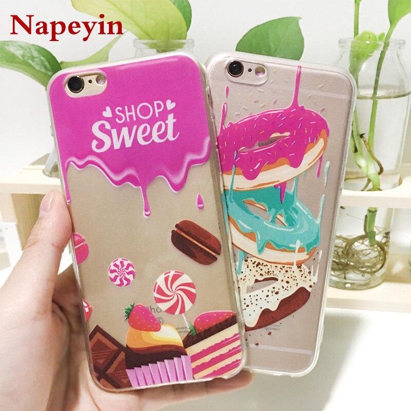 dd27101fd9 Napeyin Phone Case For Iphone 6 6S 7 8 Plus SE 5 5S Girls Cat Mandala ...