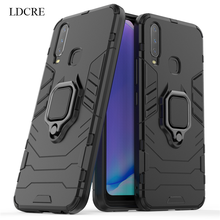 For VIVO Y17 Case Magnetic Finger Ring Kickstand Hard Fundas Y3 Phone Cover