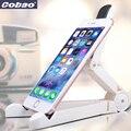 Cobao universal accesorios soporte para teléfono de escritorio flexible del soporte del sostenedor del montaje del teléfono móvil apto para iphone ipad mini samsung
