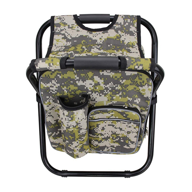 Multi-function Folding Camping Fishing Chair Stool Backpack with Cooler Insulated Picnic Bag Hiking Picnic Seat Table BagMulti-function Folding Camping Fishing Chair Stool Backpack with Cooler Insulated Picnic Bag Hiking Picnic Seat Table Bag