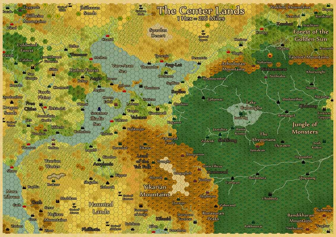 Detail Feedback Questions About Middle Earth Map On Lord Of The