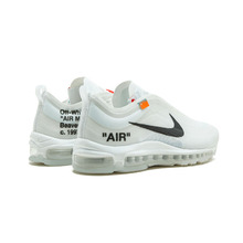 NIKE Air Max 97 OG Off White Mens Running Shoes Sneakers Sport Outdoor Good Quality AJ4585-100