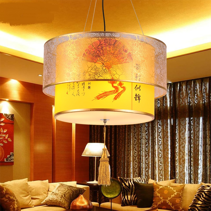 Chinese style pendant lamp living room study tea house guest room restaurant lighting decorative pendant  light  ZA8244 chinese style iron lantern pendant lamps living room lamp tea room art dining lamp lanterns pendant lights za6284 zl36 ym