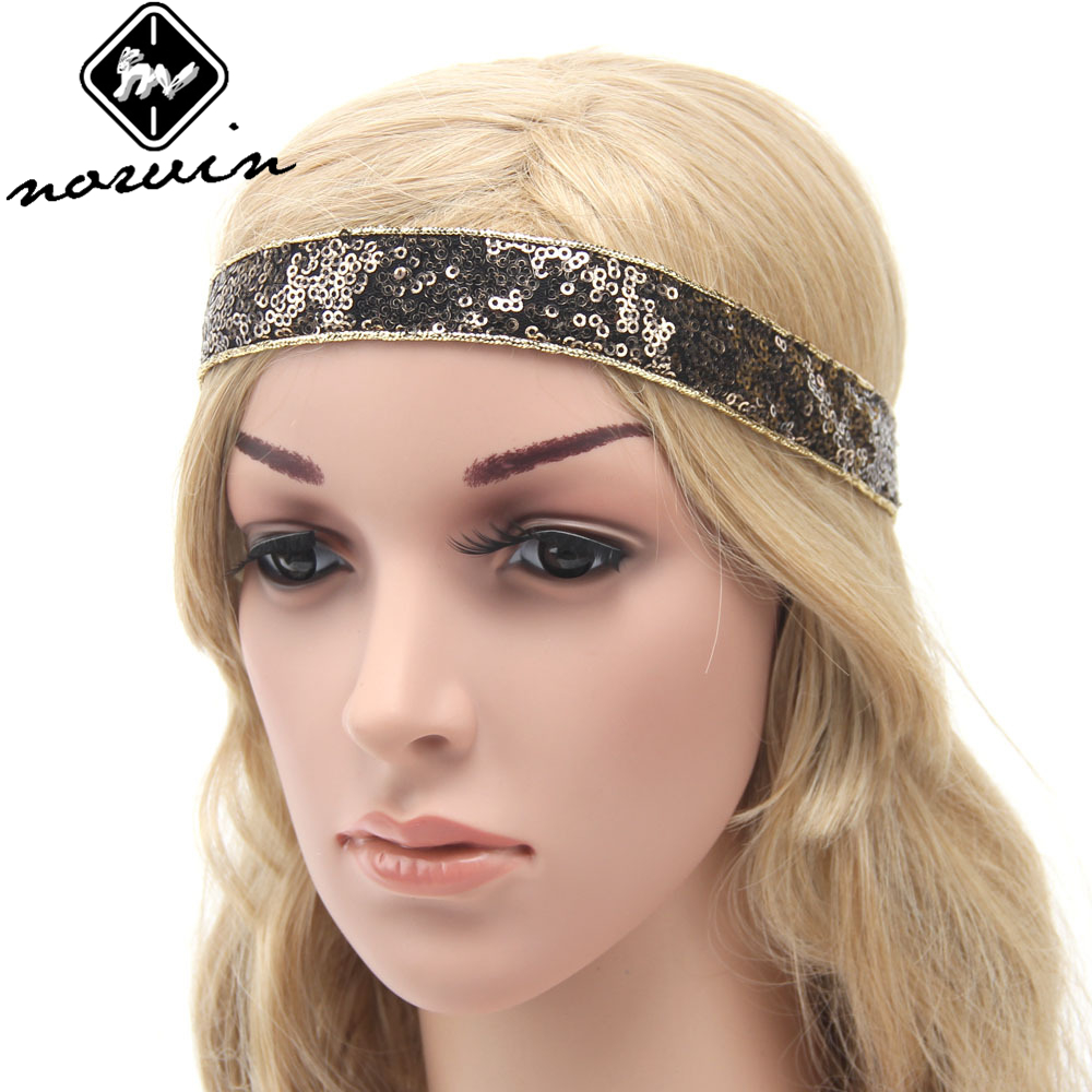 Norvin Fashion Women Sequins Hair Accessories Simple ...