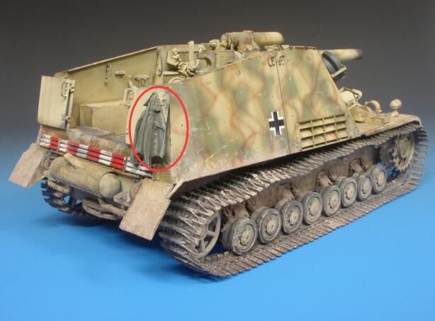 1/35 Modified Parts WWII German Resin Uniform 6pcs/set