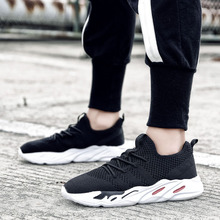 Mens shoes 2018 summer new lightweight breathable mesh cloth sneakers outdoor comprehensive  5