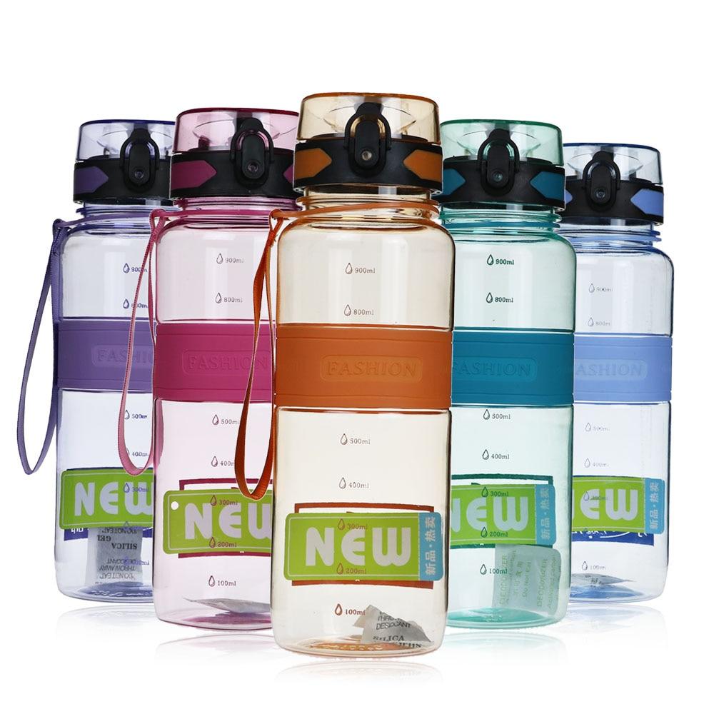 PURANKA Mein Geschenk Wasser flasche 1000 ml Tour Sport Schule Kinder Leck Proof Seal Marke Wasser flasche Kunststoff Drink BPA freies