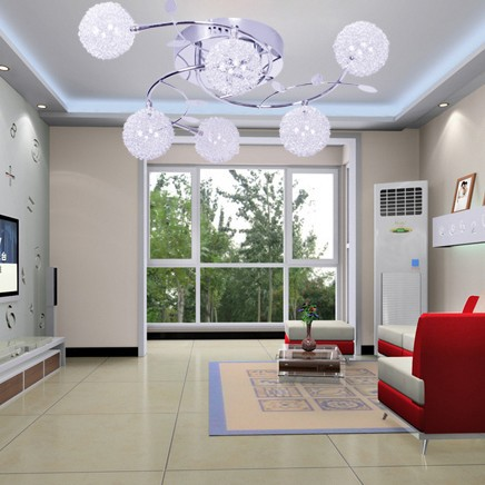Us 91 28 44 Off New Free Shipping 6 Light Modern Ceiling Led Home Lighting Decoration W56cm 15cm In Lights From On