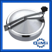 200mm SS304 Round Manhole Cover Without Pressure