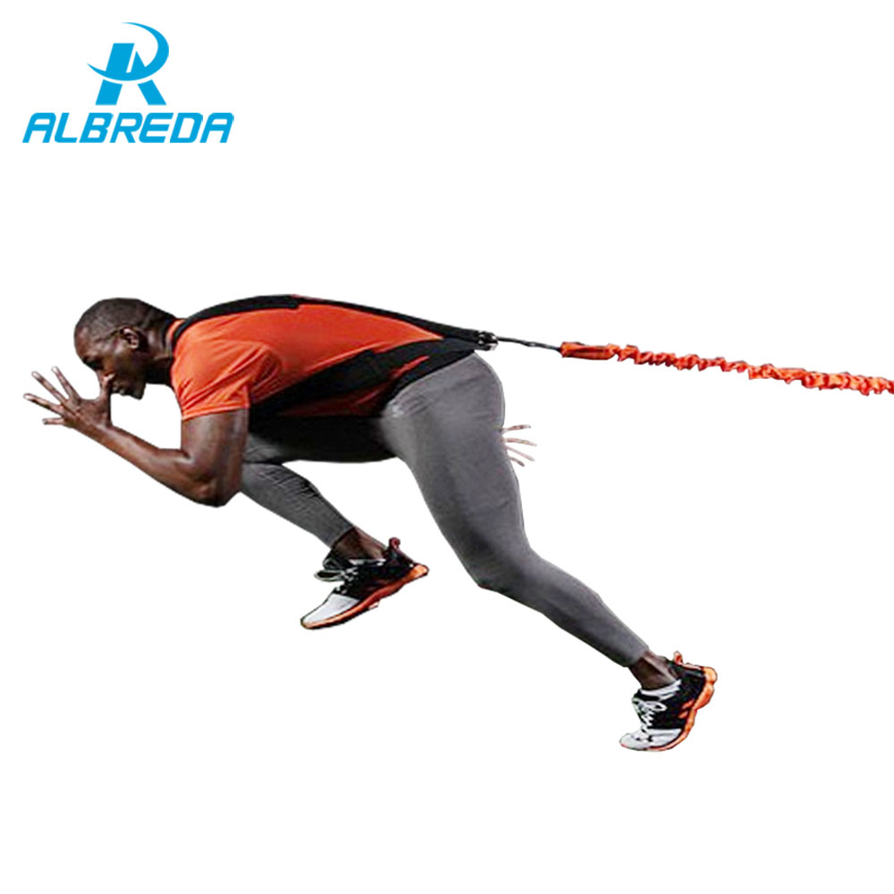 ALBREDA new arrival Gym Leg Explosive force training belt Jump resistance Trainer 90 lbs tension Fitness equipment free shipping rip trainer high quality resistance bands crossfit fitness exercise equipment gym rip trainer basic kit stick fitness rope