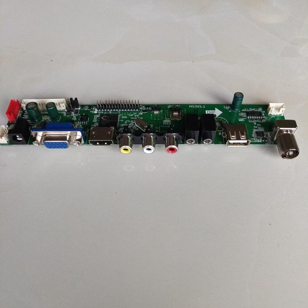 5,8 pulgadas 1280*768 pantalla lcd con 5 en 1 Placa de controlador DIY kit de proyector HD TV 16:9 pantalla kit de bricolaje soporte 1080p - 5