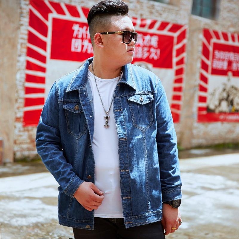 New Arrival Warm Winter Jackets Men Coat Big Man Casual Denim Jacket Man Jacket Coat Men Plus Size 8XL Jaqueta Masculina RC7025