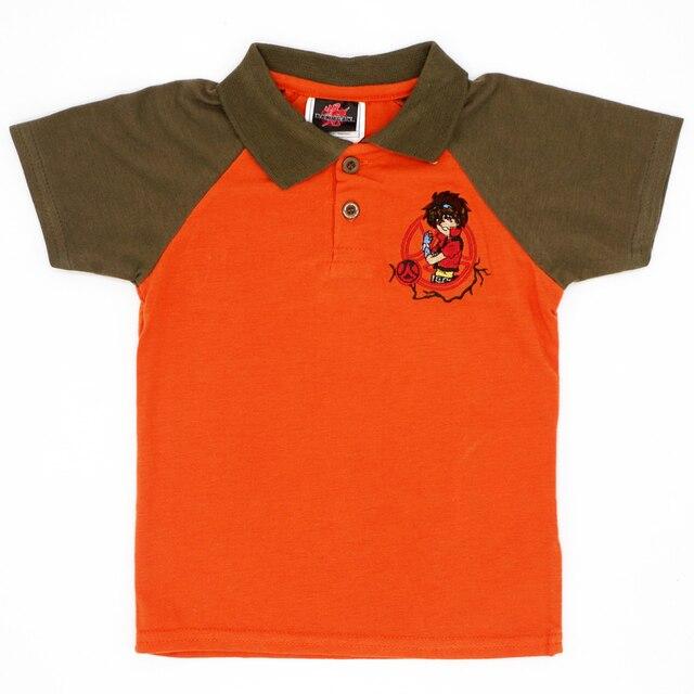 1124b4470 Niños Niñas Camisetas manga corta niños Polo camisa Bordado patrón de  dibujos animados Bebé Ropa unisex