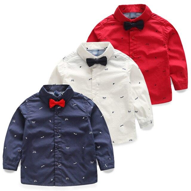 design intemporel 47726 07068 € 11.7  Aliexpress.com: Acheter 2018 printemps arc cravate de garçon  enfants vêtements printemps et automne bébé enfant chemise à manches  longues ...