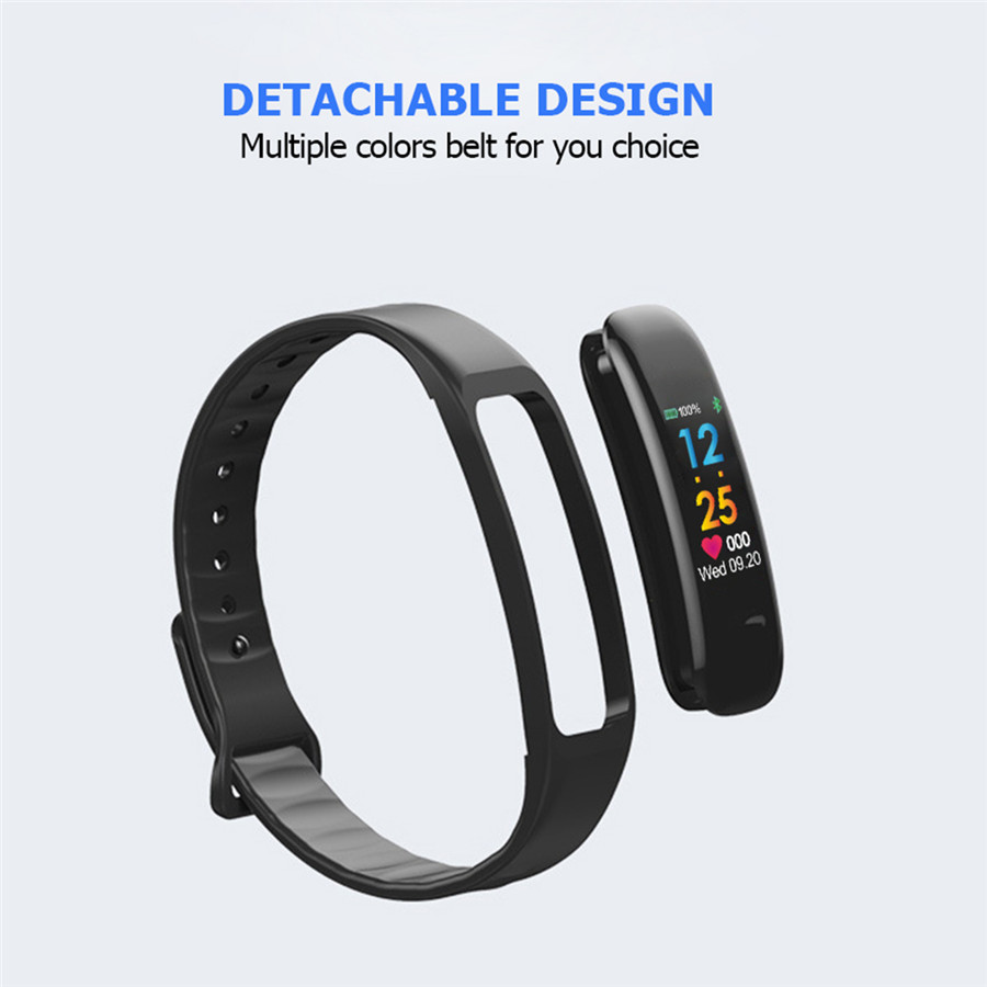 Image 3 - HORUG Smartband Smart Activity Tracker Activity Bracelet Smartband  Fitness Bracelet Fitness Tracker Electronic Health Monitor-in Smart Wristbands from Consumer Electronics
