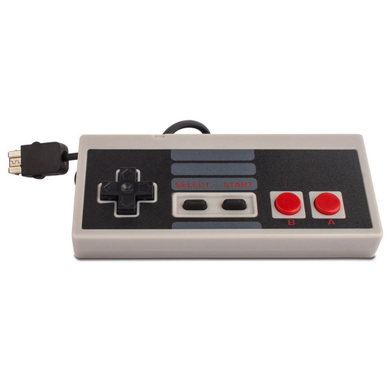 For Nintend Nes Classic Mini Wii Game Console Controller Abs Gamepad Joystick with 1 8m Extend Cable Gifts Wii Controller in Gamepads from Consumer Electronics