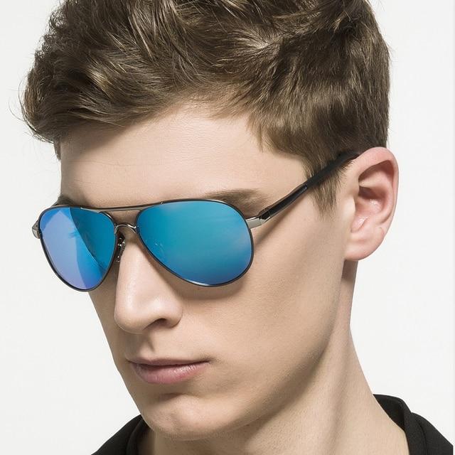 6998482d379 SPACE Design Bursts of Men Polarized Sunglasses bright color Sunglasses  driving Glasses With Original Case