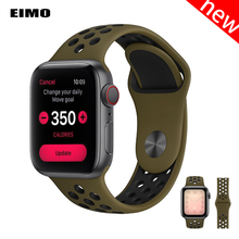 Strap For Apple Watch band 4 44mm 40mm iwatch band 3 42mm 38mm pulseira correa Sport silicone bracelet watch Accessories