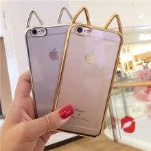 Apple iPhone Cute Cartoon Cat Ears Phone Case