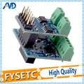 1 Juego de placa hija de PT100 clonada permite sensores de temperatura PT100 + placa hija de termopar para el DuetWifi Duet Ethernet