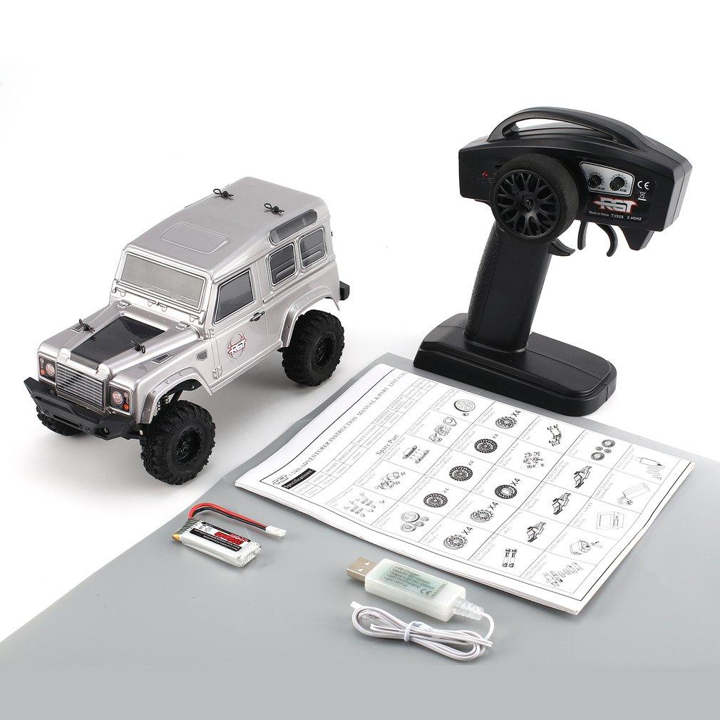 RGT 136240-D90 1/24 échelle 2.4 Ghz 4WD haute vitesse RC grimpeur sur chenilles Buggy véhicule tout-terrain RC voiture télécommandée modèle RTR