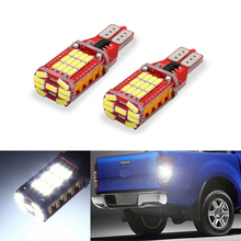 2x White Canbus LED 921 T15 W16W Car Reverse Light lamp For Volkswagen Tiguan Sharan Scirocco Skoda Superb