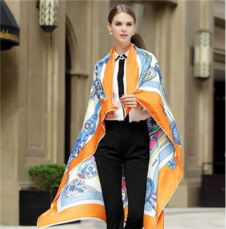 New-Spring-Summer-Women-Silk-Scarf-Luxury-Brand-Ladies-Real-Twill-Silk-Pashmina-Shawl-130cmx130cm-Wrap (4)