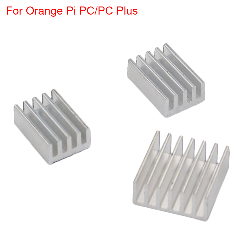 New Orange Pi PC Heat Sink Aluminum CPU Cooling Pad Dissipador For Orange Pi PC